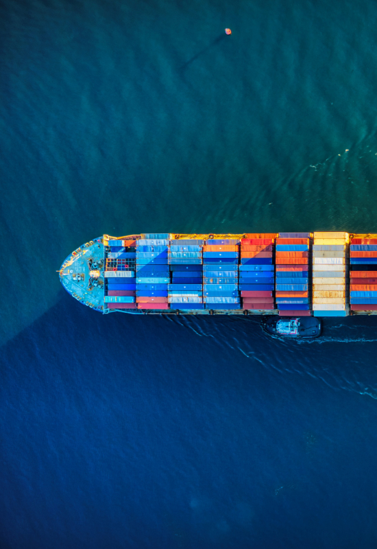 The shipping market's impacts on commodity trade